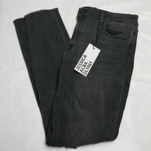 DL1961 Jeans - No. 3 Instasculpt Ripped Weathered Skinny Jeans